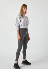 PULL&BEAR - Leggings - Trousers - grey - 4