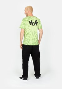 HUF - HAZE BRUSH - Print T-shirt - lime - 2