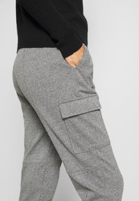 Opus - ELENI - Trousers - easy grey - 3