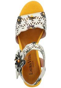 LAURA VITA - Sandals - blanc - 3