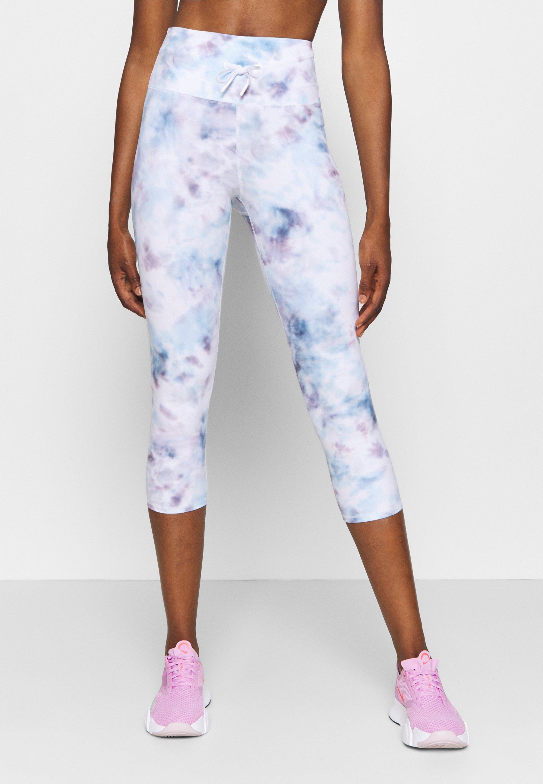 Femme SHEEN TIE WAIST CAPRI - Pantalon 3/4 de sport