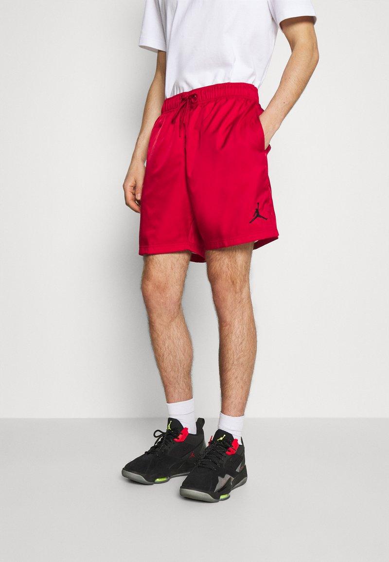 Jordan - JUMPMAN POOLSIDE - Shorts - gym red/black