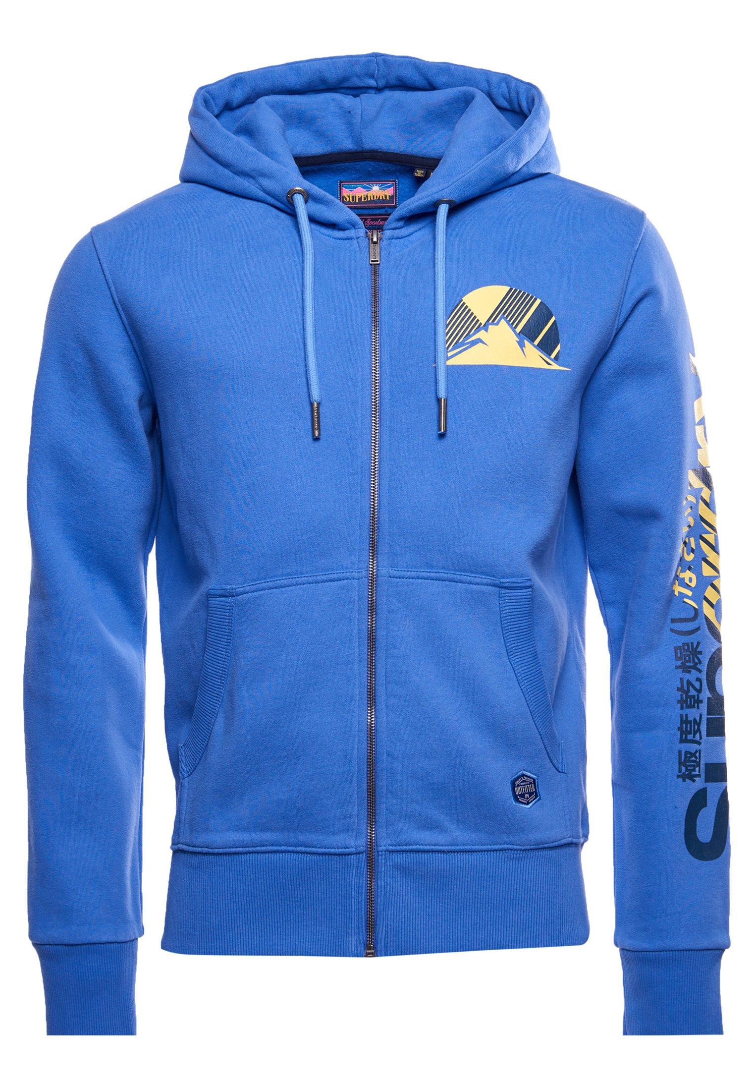 Men HERITAGE MOUNTAIN GRAPHIC - Zip-up sweatshirt