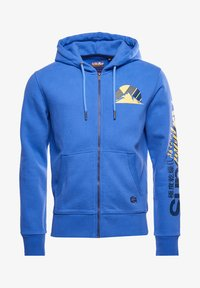Superdry - HERITAGE MOUNTAIN GRAPHIC - Sweatjacke - chambray blue - 3