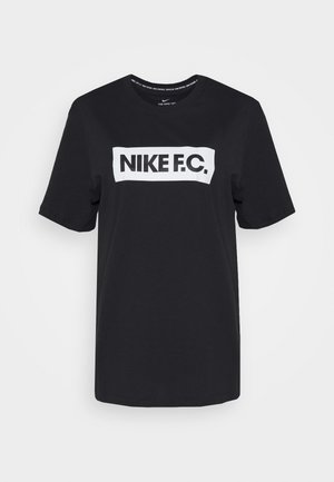 TEE ESSENTIALS - T-shirt con stampa - black/white