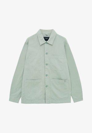 Denim jacket - light green