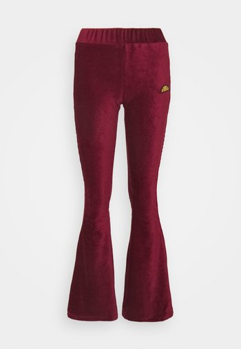 FLORIE - Trousers - burgundy