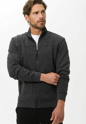 STYLE SALO - Zip-up sweatshirt - cement