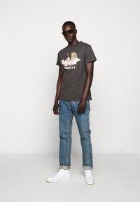Fiorucci - VINTAGE ANGELS TEE - Print T-shirt - dark grey - 1