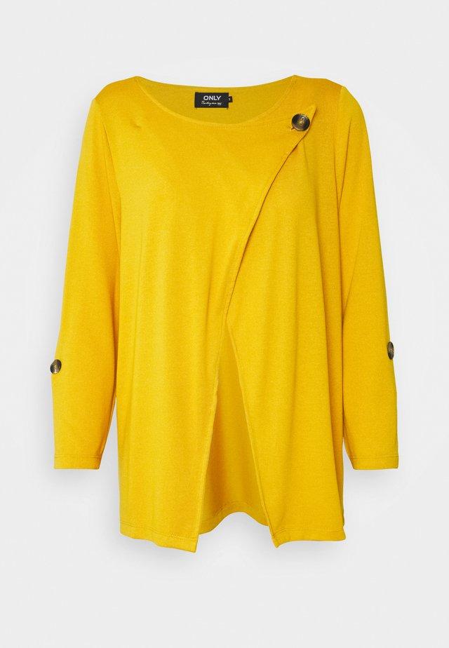 ONLELLE CARDIGAN - Kardigan - golden yellow