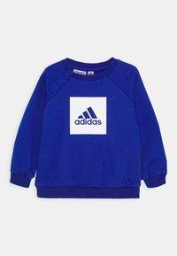 adidas Performance - LOGO SET UNISEX - Tracksuit - royal blue/white - 1