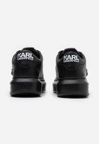 KARL LAGERFELD - KAPRI IKONIC LACE - Sneaker low - black - 3