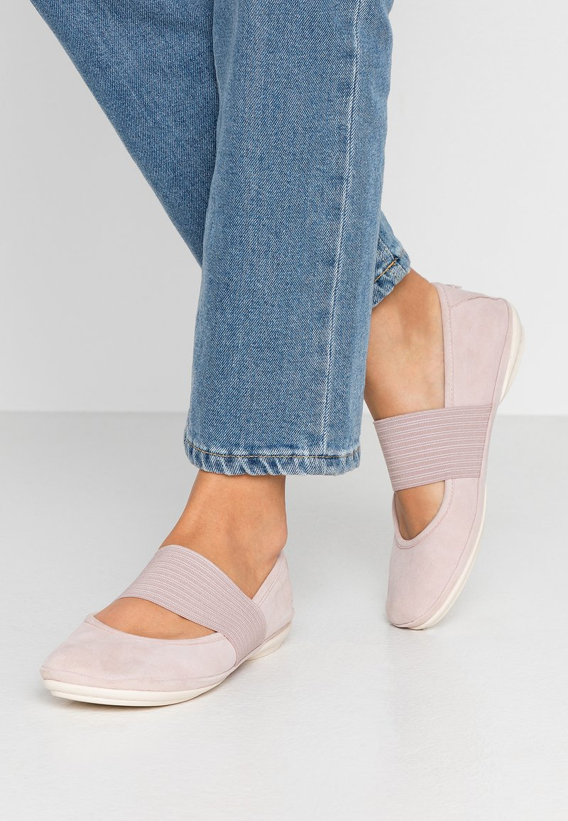 Camper - RIGHT NINA - Ankle strap ballet pumps - pastel pink