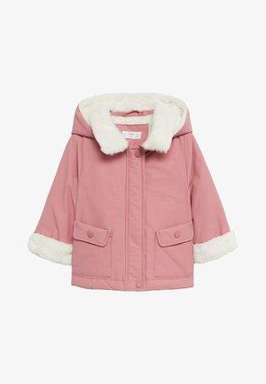 VICTORIA - Winter coat - fuchsia