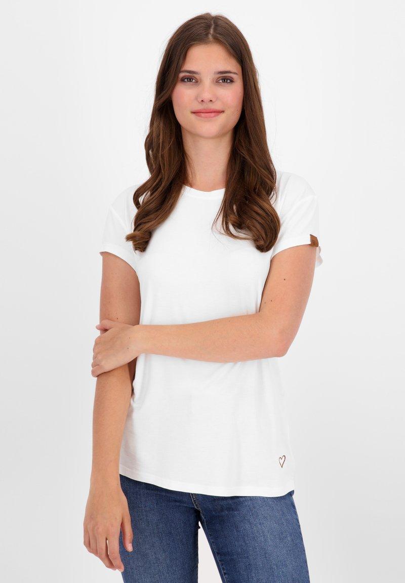 alife & kickin - Basic T-shirt - white