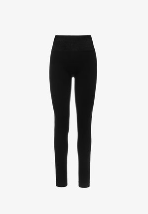 Leggings - black/shining black