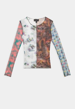 SPLICED PATCHWORK - Long sleeved top - multi