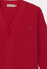 TINYCOTTONS - DOG FACE CHUNKY UNISEX - Cardigan - red - 2