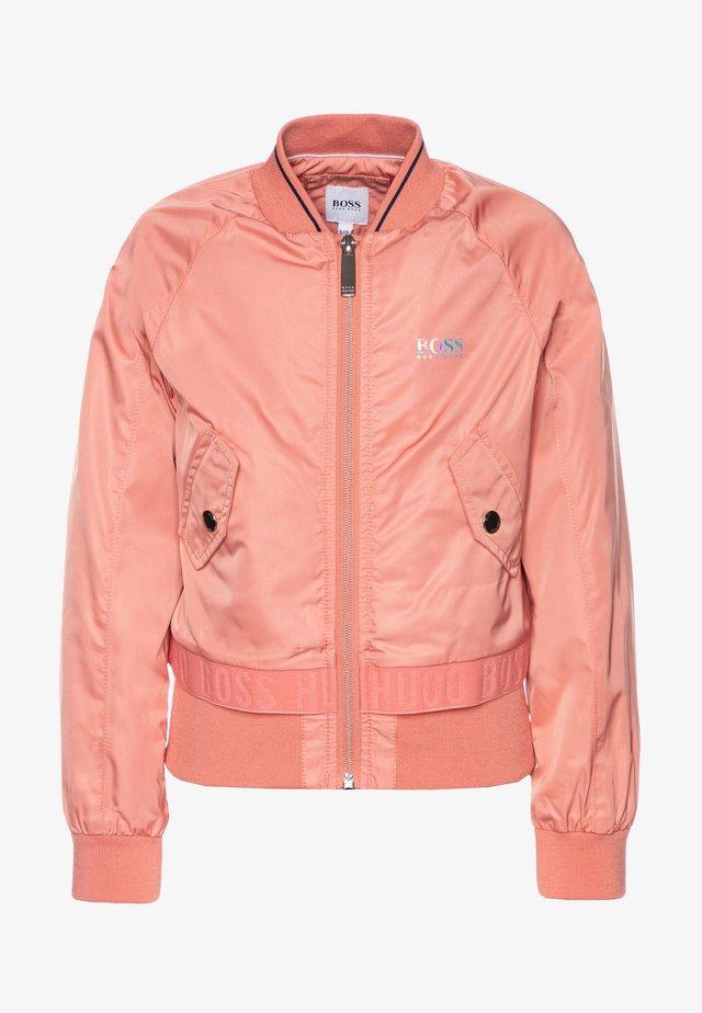 Kurtka Bomber - pink