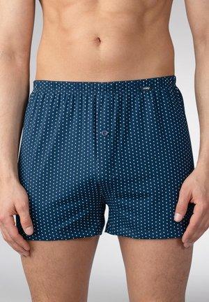 UNTERHOSE GEPUNKTET - Boxershort - blue