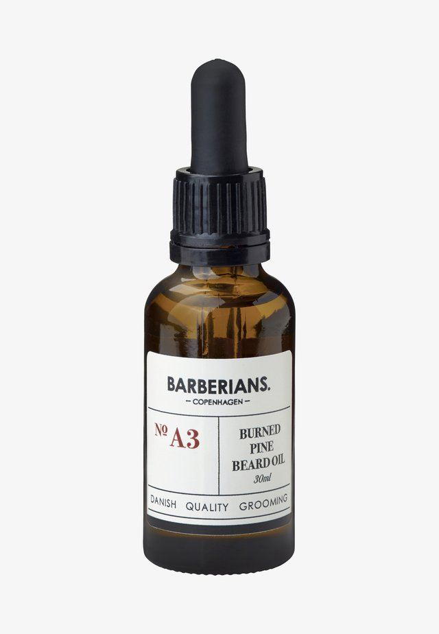 BURNED PINE BEARD OIL - Skäggolja - -