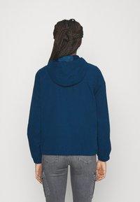 JDY - JDYNEWHAZEL SHINE JACKET - Summer jacket - poseidon - 2