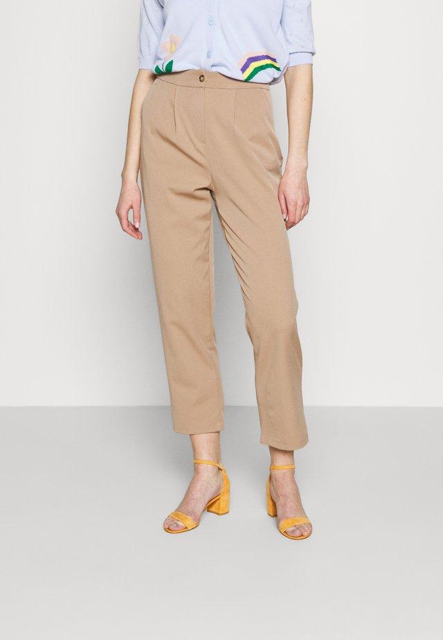 Pantalon classique - mink