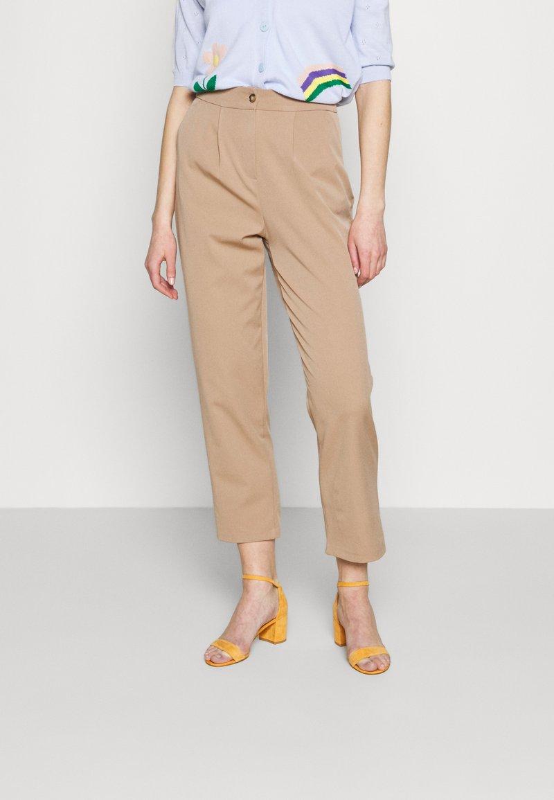 Trendyol - Trousers - mink