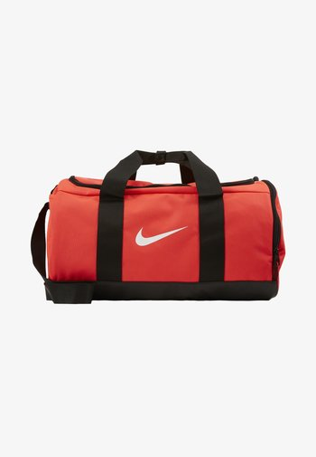 TEAM DUFFLE - Sports bag - laser crimson/black/white