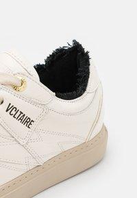 Zadig & Voltaire - BOARD TOP PATCH - Tenisky - blanc - 6