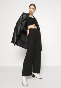 Nly by Nelly - DRAWSTRING SET - Jumper - black - 5