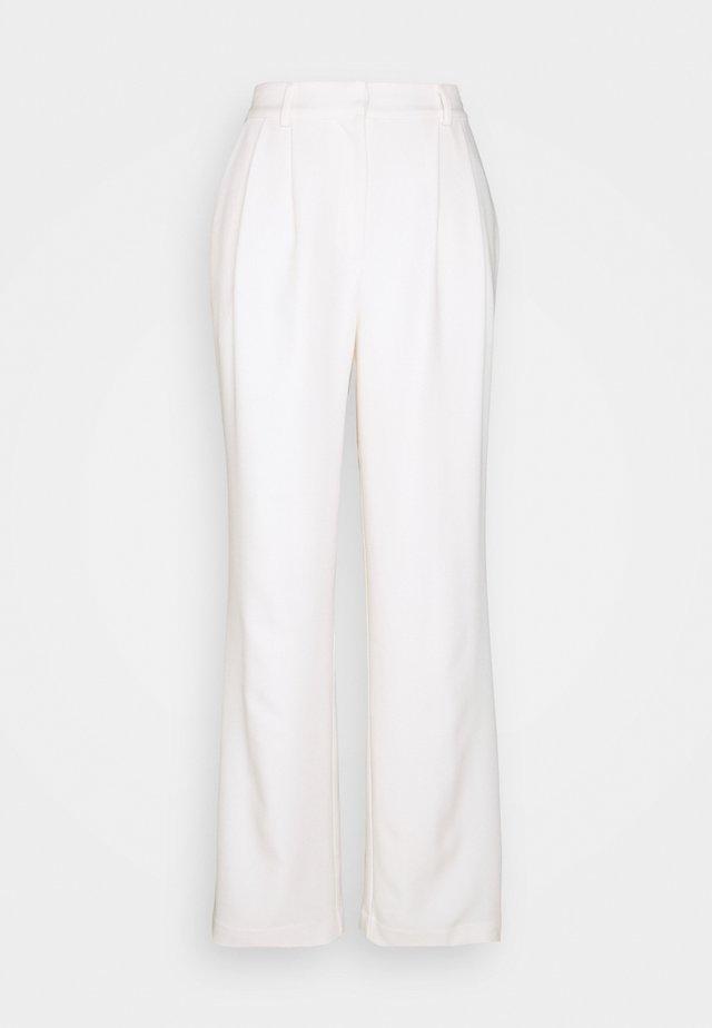 OVERSIZED WIDE PANTS - Broek - light beige