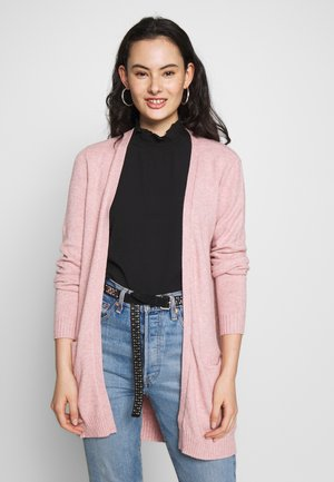 VIRIL - Strickjacke - pale mauve/melange
