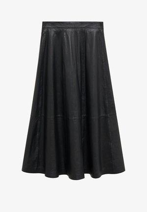 VUELO - Spódnica trapezowa - schwarz