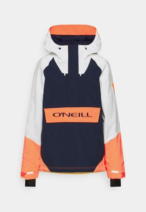 ORIGINALS ANORAK - Kurtka snowboardowa - powder white