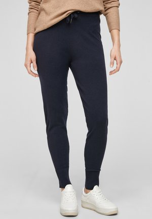 SOFTE - Tracksuit bottoms - navy