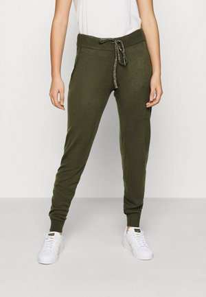 ONLAUBREE LOOSE PANTS  - Tracksuit bottoms - kalamata
