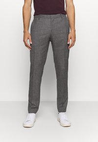 Tommy Hilfiger Tailored - SLIM FIT SEPARATE PANT - Suit trousers - grey - 0