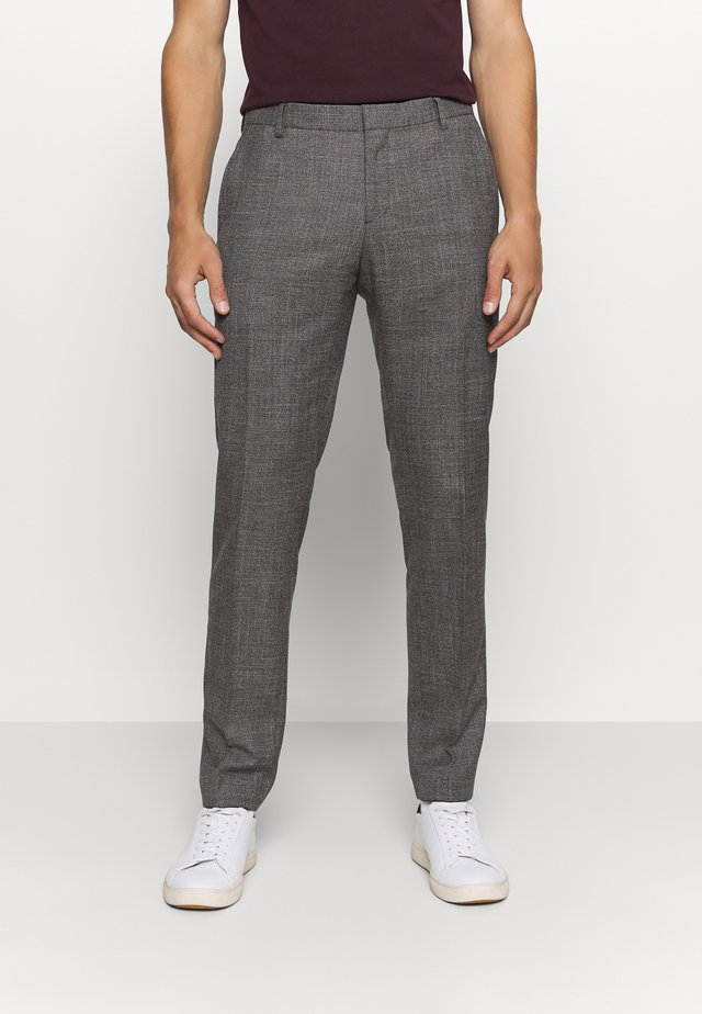 SLIM FIT SEPARATE PANT - Pantalon - grey