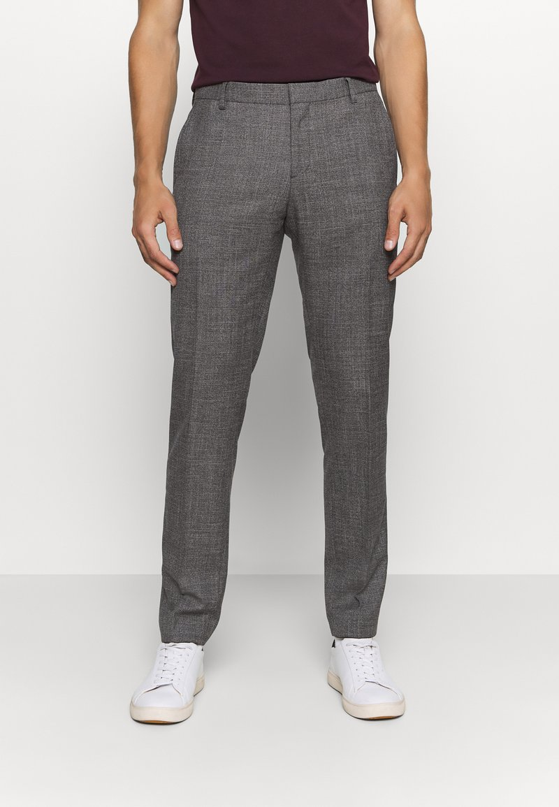Tommy Hilfiger Tailored - SLIM FIT SEPARATE PANT - Suit trousers - grey