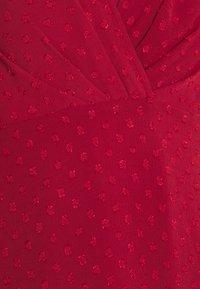 Forever New - MONIQUE BLOUSON SLEEVE MINI DRESS - Day dress - red - 2