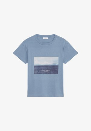 Print T-shirt - fall sky