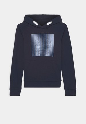 HOODED  - Kapuzenpullover - navy