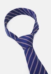 Pier One - Cravatta - dark blue/bordeaux/white - 2
