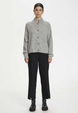 ALPIAGZ BOXY - Kofta - high-rise grey melange