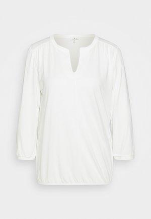 Langarmshirt - whisper white