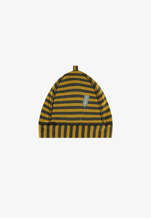 Beanie - dark shadow stripe