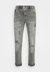 MR RED LIGHT DESTROY - Slim fit jeans - silver grey