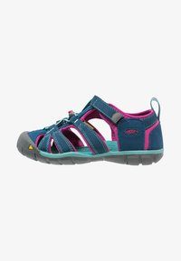 Keen - SEACAMP II CNX - Walking sandals - poseidon/very berry - 0