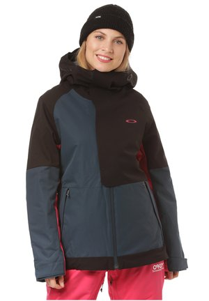 CAMELLIA INSULATED - Snowboard jacket - black blue